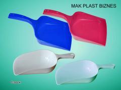 Совок из пластмассы цветной