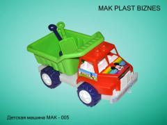 Cars children's MAK-5
