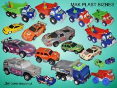 Toys nurseries, cars children's