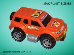 Cars children's MAK-18