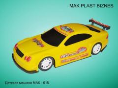 Машины детские МАК-15