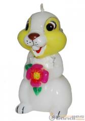 Candle the Hare with a flower. Article: 306