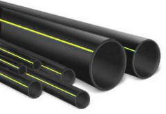 Polyethylene pipes for gas supply