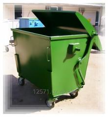 Trash bins 1100 l