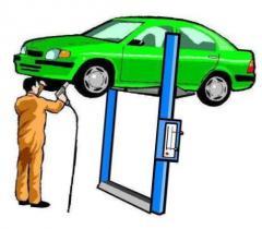 Автосервисы, техобслуживание автомобилей.