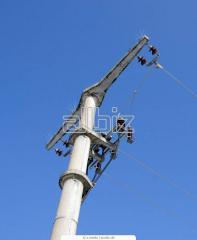 Опоры железобетонные для линий электропередач