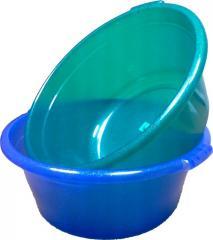 Basin is plastic