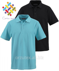 Man's polos short sleeve of 180 g/m2