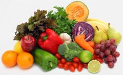 Fruit and vegetable food