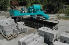 Equipment for production of foam concrete