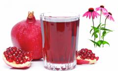 Garnet juice