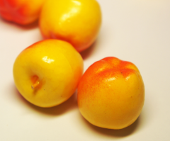 Apple yellow artificial-decorative