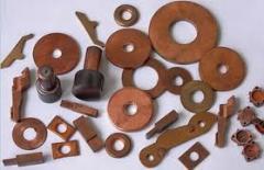 Заготовки из материалов порошковых