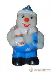 Candle Snowman of midi. Article: 357