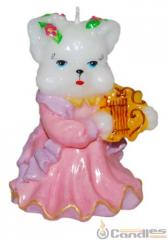 Candle the Cat in a dress. Article: 387