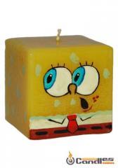 Candle Cube 60 SpongeBob. Article: 101