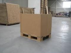 Картонная упаковка для строительных материалов