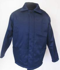 Куртки ватные рабочие