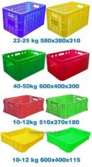 Box-shaped boxes pallets plastic