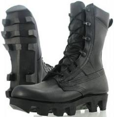 The footwear is military