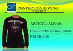 T-shirt with a long sleeve an art 068