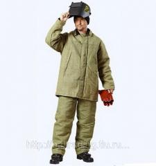 Одежда защитная брезентовая и парусиновая