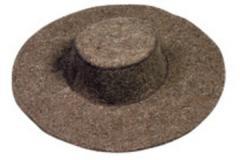 Шляпа шерстяная для металлургов