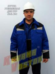 Jacket for ITR warmed, corporate