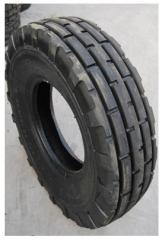 Rubber pneumatic tires for agricultural transports