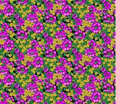 Fabrics flower for every taste