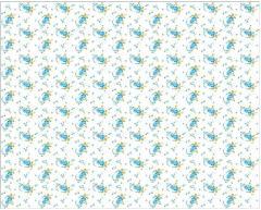 Ткани хлопчатобумажные цветочные
