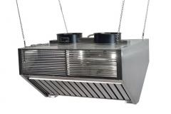 Umbrella exhaust, equipment for restaurants,