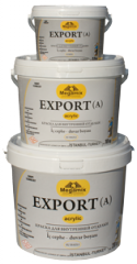Dullpaint on the basis of water for indoor walls