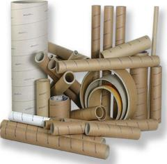 Cylindrical cardboard reel (coil)