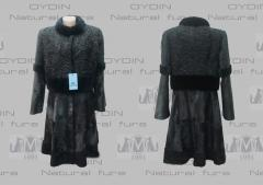 Fur coats, short fur coats, coat from natural fur
