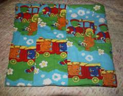 Blankets children's from PET fiber
