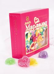 "Fruit jelly in gift packing of ""Mavis"