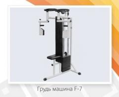 Breast car F – 7 (10х6 kg)