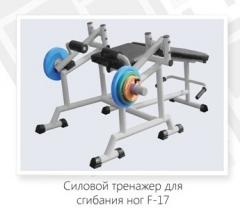 Power simulator for bending and a leg extention F