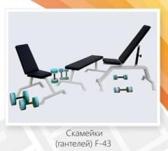 Bench adjustable F – 43-1