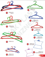 Hangers for a case
