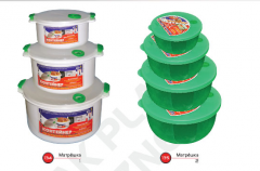 Containers for plastic lunches