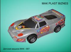 Машинка детская МАК 007