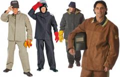 Tarpaulin suits for welders