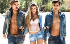 Jeans suits