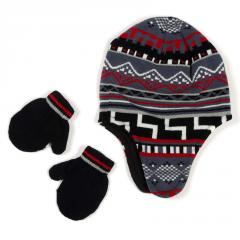 Children's hats and mittens