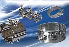 Кольцевые (хомутовые) нагреватели от производителя