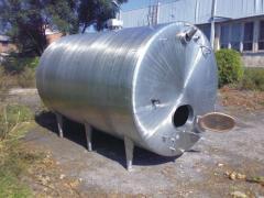 Резервуары, емкости и баки из нержавеющей стали