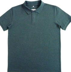 Polo with a short sleeve