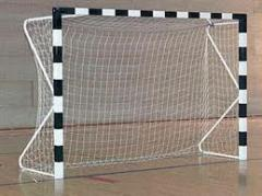 Grids for a football, handball goal